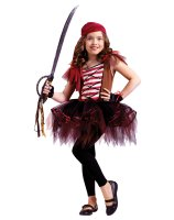 Ballerina Pirate Child Costume - Small (4/6)