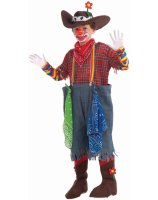 Rodeo Clown Child Costume - Medium