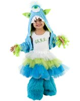 Grrr Monster Child Costume - Small/Medium