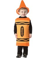 Crayola Outrageous Orange Crayon Toddler Costume - 18-24 Months