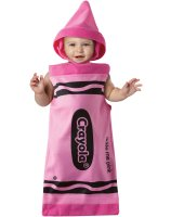 Crayola Tickle Me Pink Crayon Bunting Infant Costume - Infant