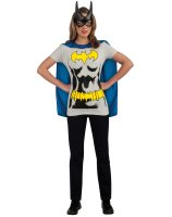 Batgirl T-Shirt Adult Costume Kit - Small