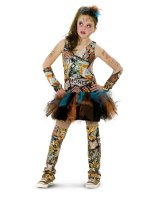 Graffiti Girl Tween Costume - Tween