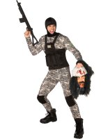 Navy Seal Adult Plus Costume