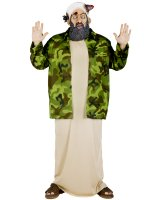 Osama Bin Laden Adult Plus Costume