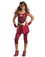 Iron Man 2 2010 Movie - Iron Girl Tween Costume
