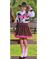 Cowgirl Cutie Tween Costume