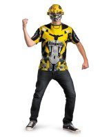 Transformers 3 Dark Of The Moon Movie - Bumblebee Adult Plus Costume Kit - Plus (50-52)