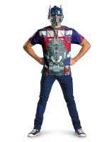 Transformers 3 Dark Of The Moon Movie - Optimus Prime Adult Plus Costume Kit