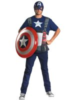 Captain America Adult Plus Costume Kit