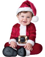Baby Santa Infant - Toddler Costume - 6-12 Months