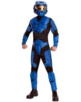Halo - Blue Spartan Deluxe Adult Costume - Standard