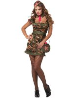Private First Class Adult Plus Costume