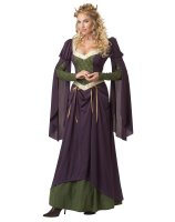 Lady in Waiting Adult Costume - Large