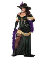 The Saloon Madame Adult Plus Costume - 3XL