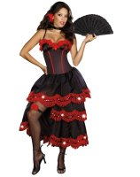 Spanish Seduction Adult Costume