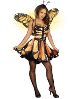 Monarch Fairy Adult Costume - Large