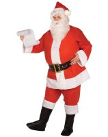 Budget Complete Santa Suit Adult Plus Costume - PLUS