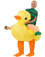 Rubber Duck Rider Inflatable Adult Costume