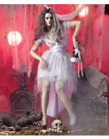 Zombie Bride Adult Costume - Small (6-8)