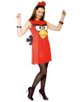 Angry Birds Sassy Red Bird Adult Costume - Medium (8-10)