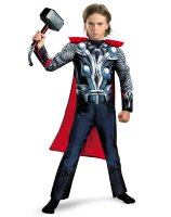 The Avengers Thor Classic Muscle Chest Toddler Costume - 3T/4T