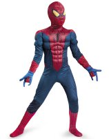 The Amazing Spider-Man Classic Muscle Chest Child Costume - 10-12