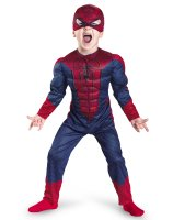 The Amazing Spider-Man Muscle Chest Toddler Costume