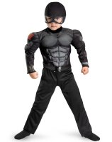 G.I. Joe Retaliation Snake Eyes Muscle Chest Child Costume