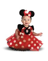Disney Red Minnie Mouse Infant Costume - 12/18 Months