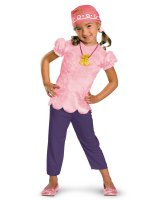 Disney Jake And The Neverland Pirates Izzy Classic Child Costume - 4/6x