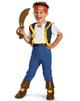 Disney Jake And The Neverland Pirates Deluxe Jake Child Costume