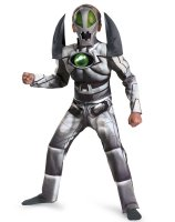 Redakai Metanoid Deluxe Muscle Chest Child Costume - 7-8