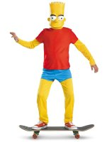 The Simpsons Bart Simpson Deluxe Child Costume - Medium (7/8)