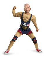 TNA Impact Wrestling Kurt Angle Classic Child Costume