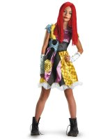 The Nightmare Before Christmas Sally Child - Tween Costume - 7-8