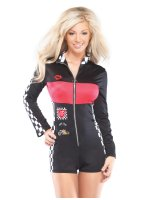 Racer Girl Adult Costume - One-Size