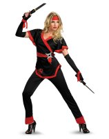 Ninja Dragon Female Adult Costume - Large