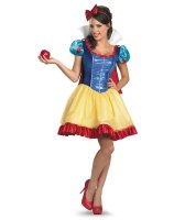 Deluxe Sassy Snow White Adult Costume - Large