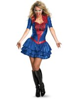 Spider-Girl Sexy Deluxe Adult Costume - Large (12-14)