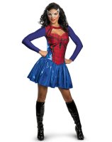 Spider-Girl Adult Costume - Small (4-6)