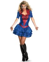 Spider - Girl Sexy Deluxe Plus Adult Costume