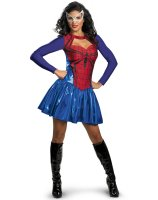 Spider - Girl Plus Adult Costume - X-Large (18-20)