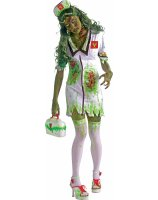 Biohazard Zombie Nurse Adult Costume