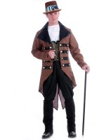 Steampunk Jack Adult Costume - One-Size (Standard)
