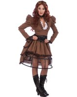 Steampunk Vicky Adult Costume - One-Size (Standard)