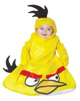 Angry Birds Yellow Bird Bunting Infant Costume - Infant (0-9 Months)
