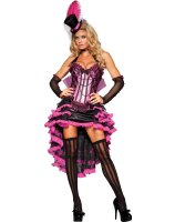 Burlesque Beauty Adult Costume - Medium