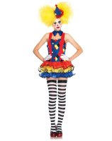 Giggles The Sexy Clown Adult Costume - Small