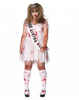 Putrid Prom Queen Adult Plus Costume - 1X/2X